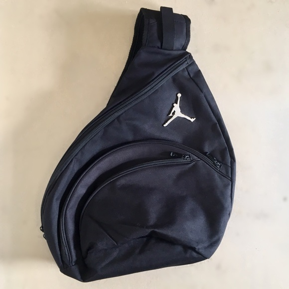 sale retailer 696ab ed57b Jordan Jumpman Sling Backpack. M 5b28076d409c15b236dd9c98